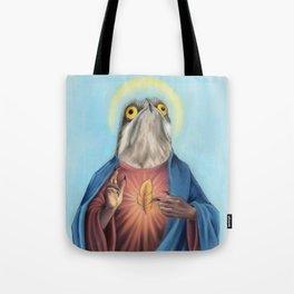 Potoo Jesus Tote Bag