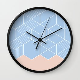 SORBETEBLUE Wall Clock