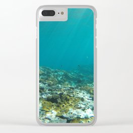 Underwater Lord Howe Island Clear iPhone Case