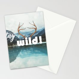 Stay wild! Stationery Cards