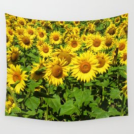 Sunflowers. Wall Tapestry