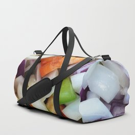 Onions and Bell Peppers Duffle Bag