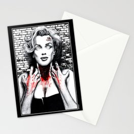 """DEAD GIRL SUPERSTAR """"BEAUTIFUL MONSTER"""" Stationery Cards"""