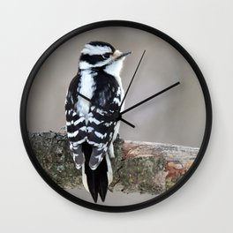 Stunning in Black and White Wall Clock