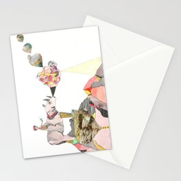 Rhinos Smell Roses Too Stationery Cards