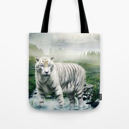Lonely Tiger 1 Tote Bag