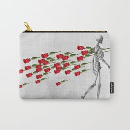 Skeleton&Roses Carry-All Pouch