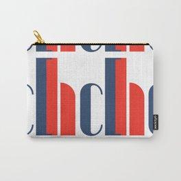 Bauhaus Joschmi Xants Repetition Font Art Carry-All Pouch