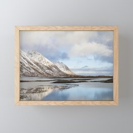 Lofoten Islands Framed Mini Art Print