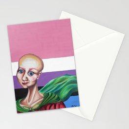 Genderfluid Hero Stationery Cards