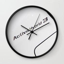 BMW ActiveHybrid 3 M Sport Wall Clock