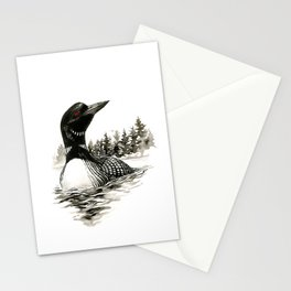 North Shore Loon Stationery Cards