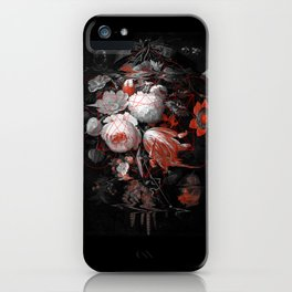sacred flowers iPhone Case