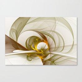 Fractal Art Precious Metals, Abstract Graphic Canvas Print