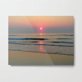 Sparkly Sunrise Metal Print