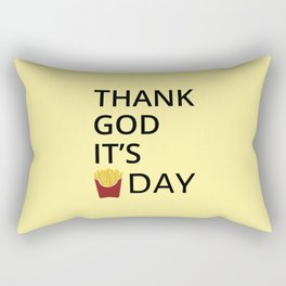 The Fryday Art Rectangular Pillow
