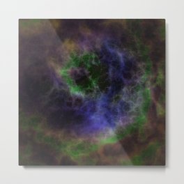 Cosmic Nebula Galaxy Expanse Metal Print