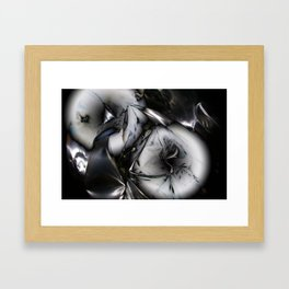 Metal memory Framed Art Print