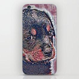 GlitzyAnimal_Dog_004_by_JAMColors iPhone Skin