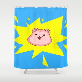 Peepoodo Pop Shower Curtain