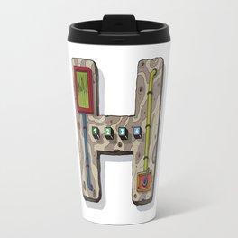 MACHINE LETTERS - H Travel Mug