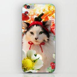 Strawberry Shortfluff iPhone Skin