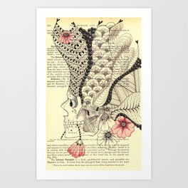 Day of the Dead - He Art Print