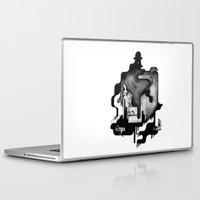 dramatical murder Laptop & iPad Skins featuring Murder by Iribú