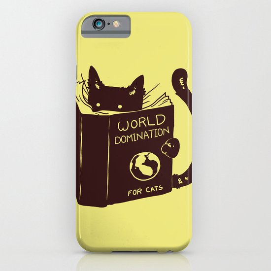 World Domination (for cats) iPhone & iPod Case