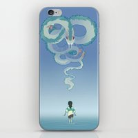 spirited away iPhone & iPod Skins featuring Spirited Away by Amy S.