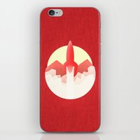 rocket iPhone & iPod Skins featuring Rocket by Ramsay Lanier