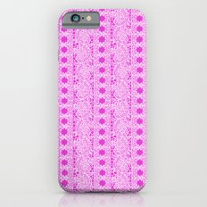 Lacey Lace - White Pink iPhone 6s Slim Case