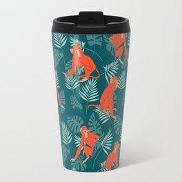 Monkey Forest Travel Mug