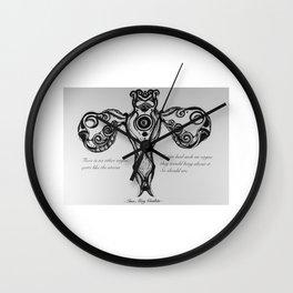 Uterus Wall Clock