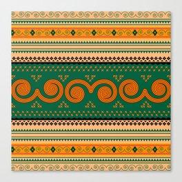 Thailand Traditional Patterns Decorative art Canvas Print