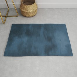 Blue Abstract Fusion Watercolor Blend Pairs To 2020 Color of the Year Chinese Porcelain PPG1160-6 Rug