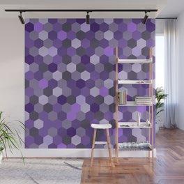 Hexa Graph Wall Mural