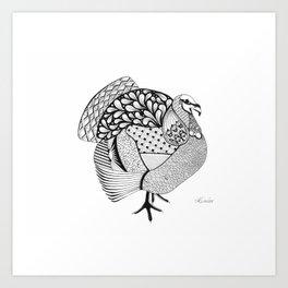 An Ode to Turkey Art Print