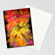 Psychedelic vision Stationery Cards
