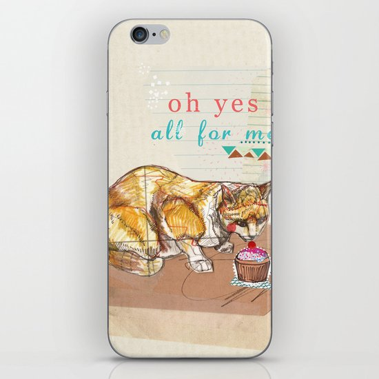 Illustration Friday- Dessert iPhone & iPod Skin