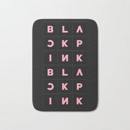 Blackpink Square Up BLACK V2 Bath Mat