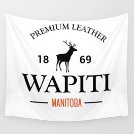 Manitoba Premium Leather Wall Tapestry