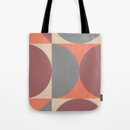 Mid Century Modern Geometric Abstract 238 Tote Bag