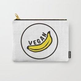 Vegan Badge of Honour - Banana ! Carry-All Pouch