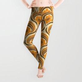 Orange  Daisy Dream Leggings