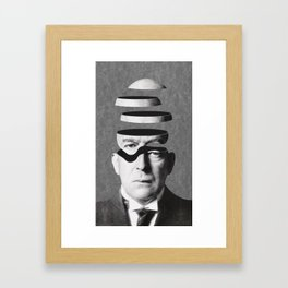 Metempirics / Parceled out (2014) Framed Art Print