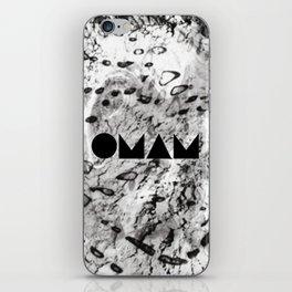 OMAM MARBLE iPhone Skin
