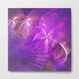 Variations in Purple Metal Print