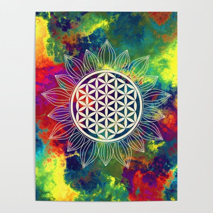Flower Of Life (Lively World) Poster