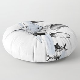 F-16 Fighting Falcon Floor Pillow